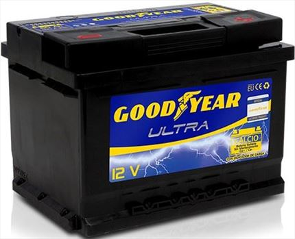 BATERÍA GOOD YEAR ULTRA 12V 60AH 550AMP