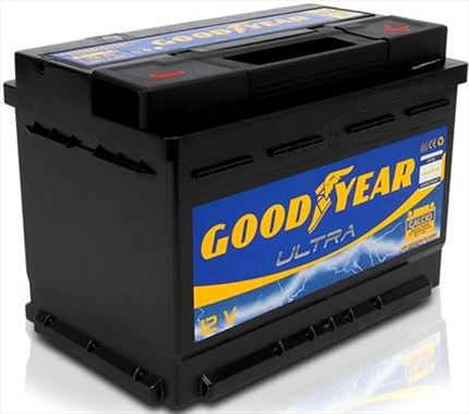 BATERÍA GOOD YEAR ULTRA 12V 75AH 680AMP