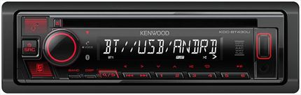 KENWOOD KDC-BT430U