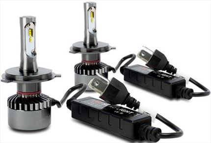 KIT BOMBILLAS LED H4 SUPERLITE 6000K 35W