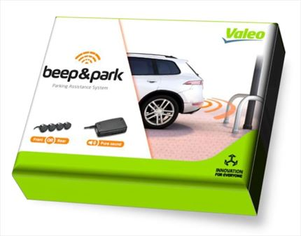 valeo beep park 4x sensores 1 altavoz. Black Bedroom Furniture Sets. Home Design Ideas